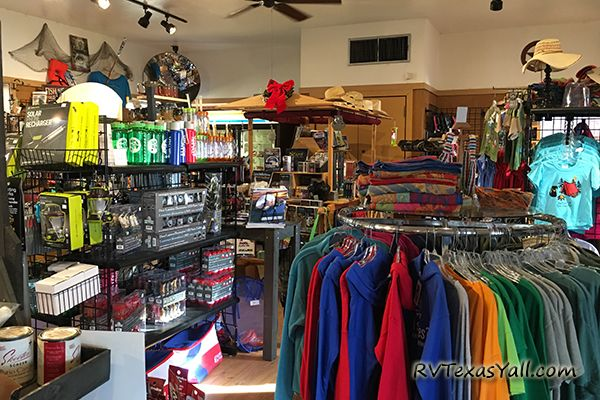 Inside the Park Store