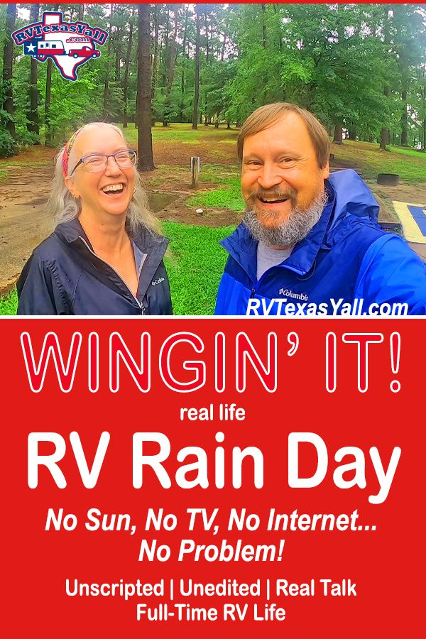 How To Spend A Rainy Day In An RV | RVTexasYall.com