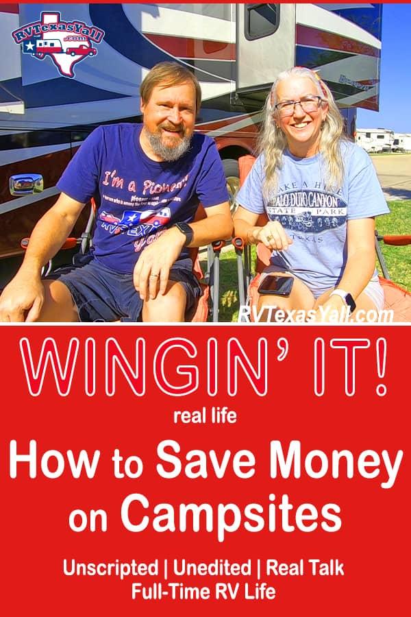 How To Save Money On Campsites | RVTexasYall.com