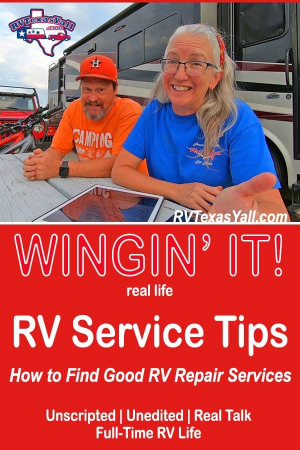 How To Find Good RV Service | RVTexasYall.com