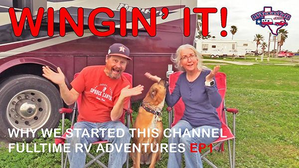 Wingin' It!, Ep 1: Why We Started Our YouTube Channel